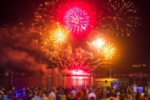 Фестиваль Фейерверков «Серебряная Ладья» — Кострома