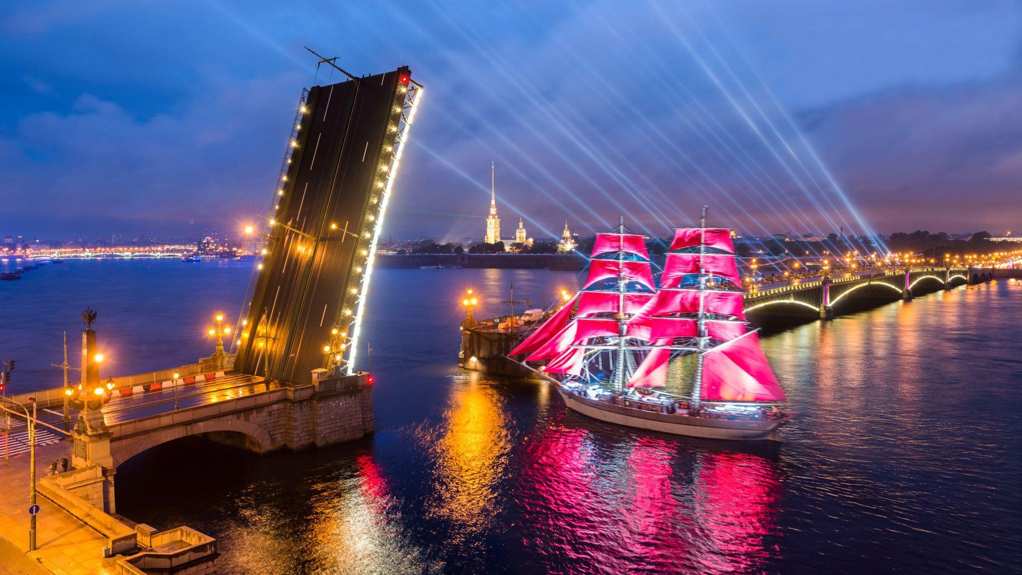 Алые Паруса Санкт-Петербург Фестиваль
