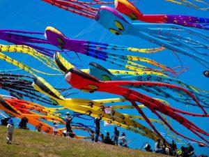 Фестиваль Воздушных Змеев Пестрое Небо