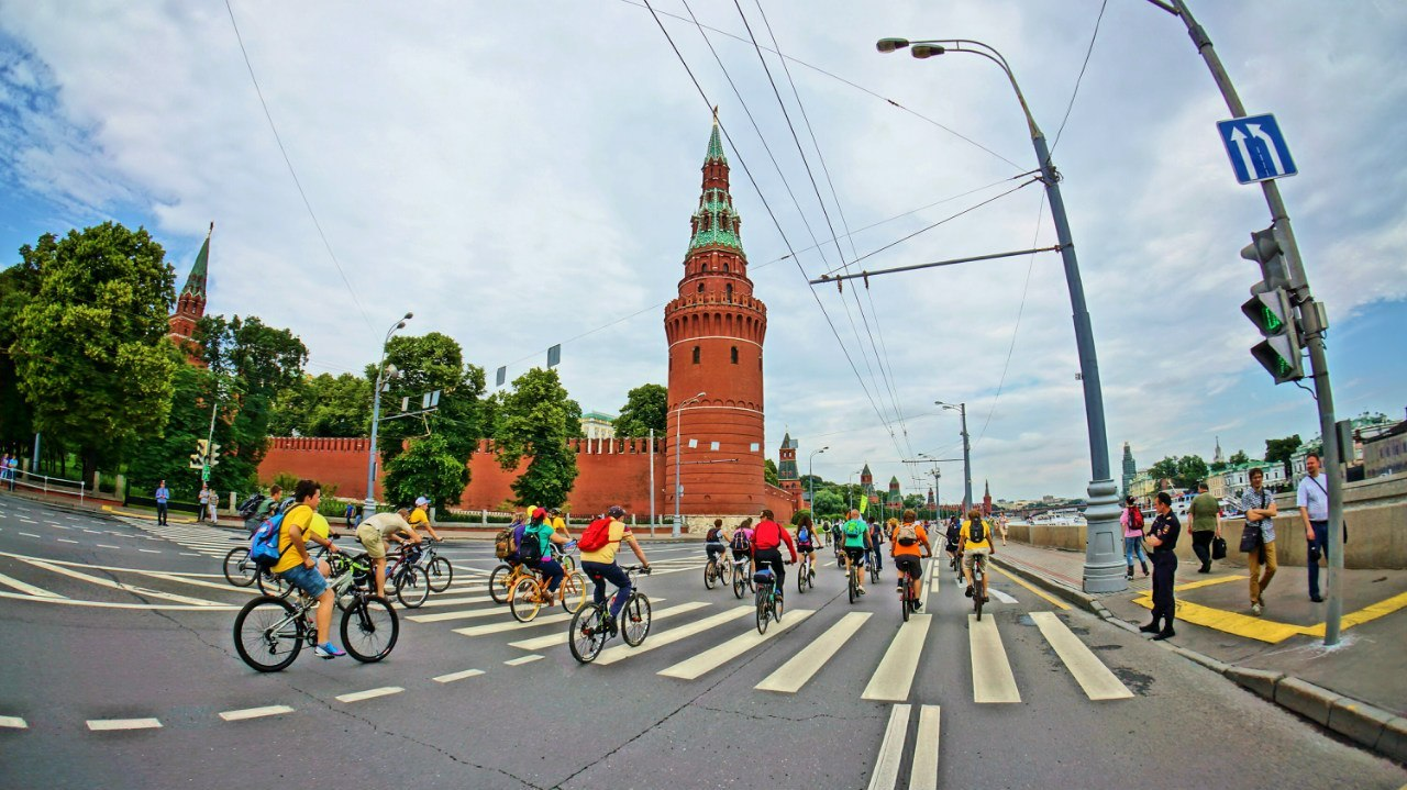 Осенний Велопарад Москва