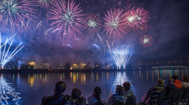 Фестиваль Фейерверков Москва Ростех