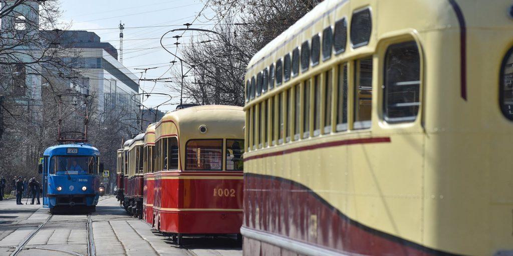 Парад Трамваев Ретро Москва