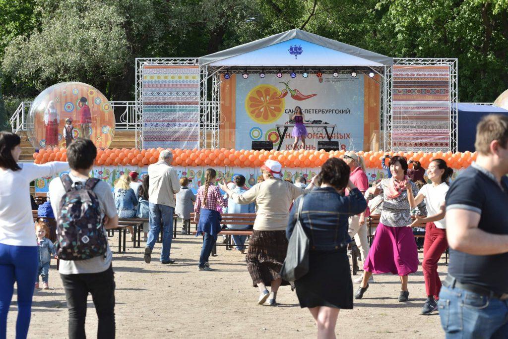 Фестиваль Национальных Кухонь в Санкт-Петербурге