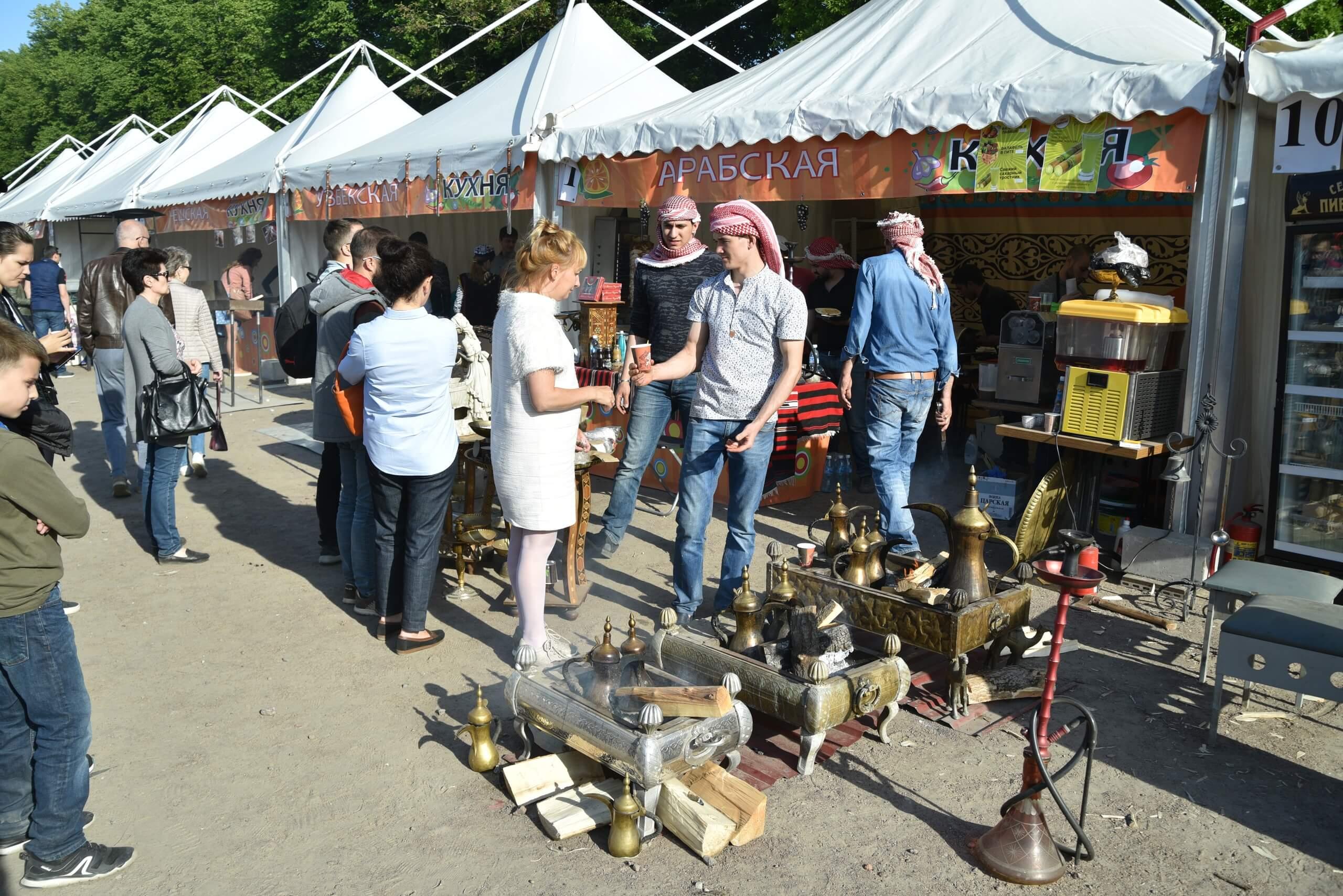 Фестиваль Национальных Кухонь Санкт-Петербург