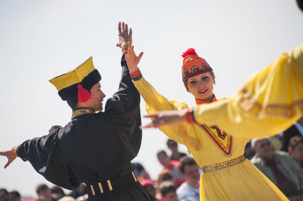 Фестиваль Тюльпанов Республика Калмыкия