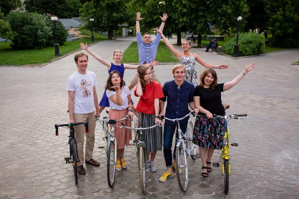 Московский Велопарад Москва Россия