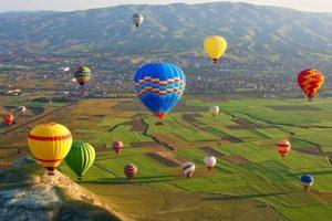 Фестиваль Воздушных Шаров — Каппадокия — Турция