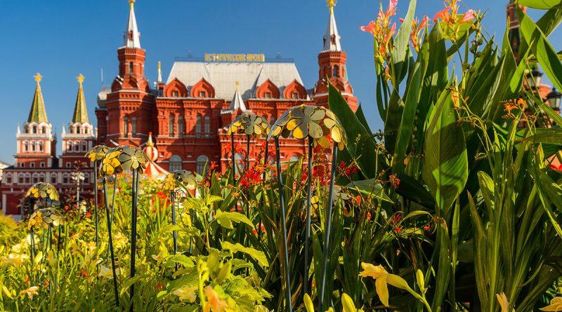 Фестиваль Цветочный Джем Москва