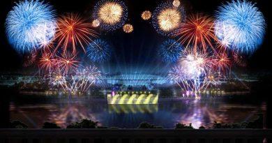 Праздноание Дня Города Москва